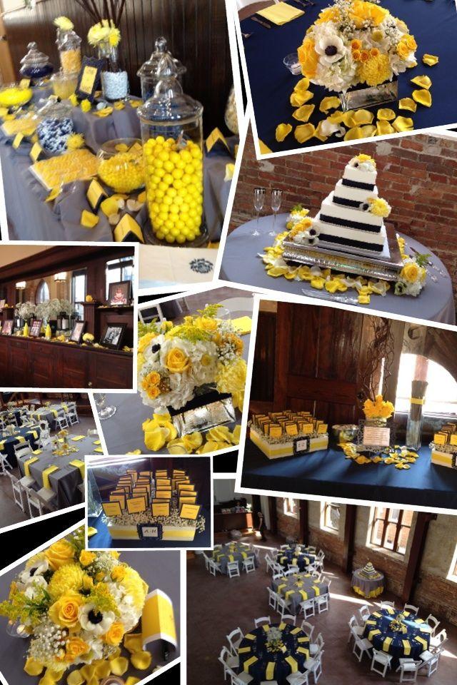 Collage Chelsea Spurlock Yellow Wedding Colors