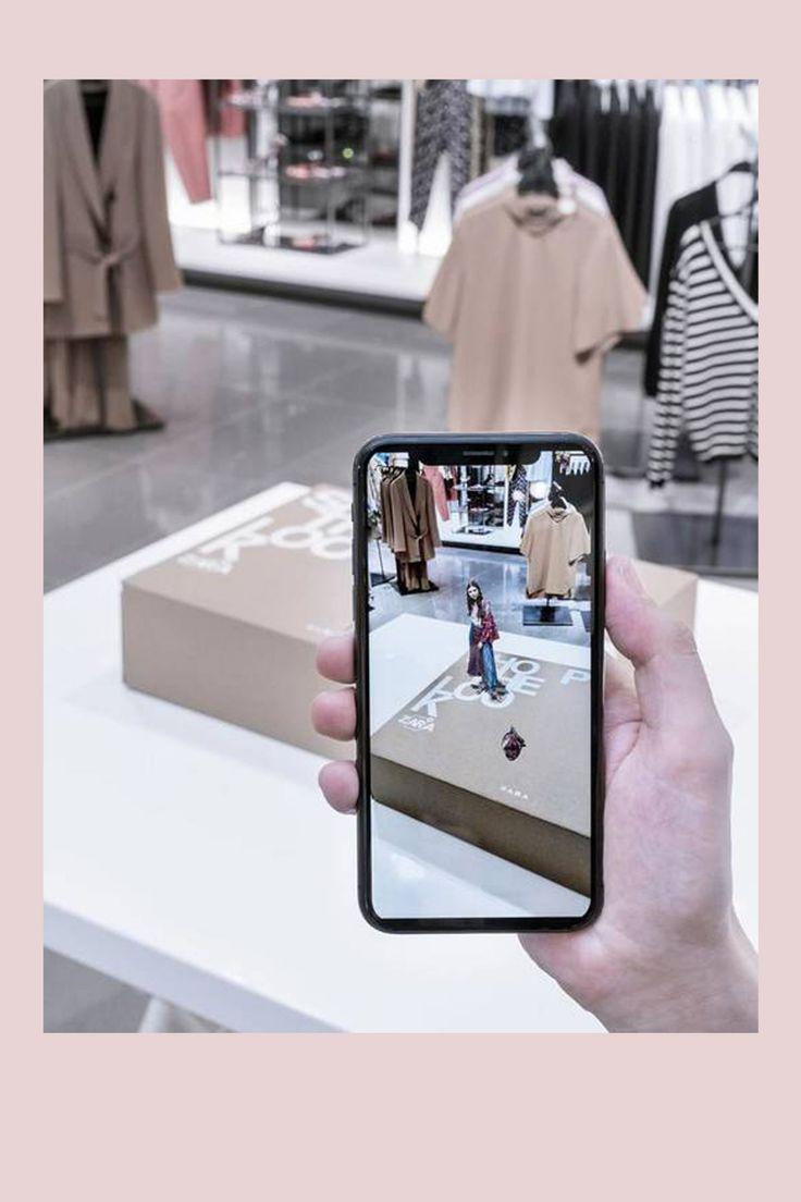 Zara launcht AugmentedRealityApp en 2020 (avec images