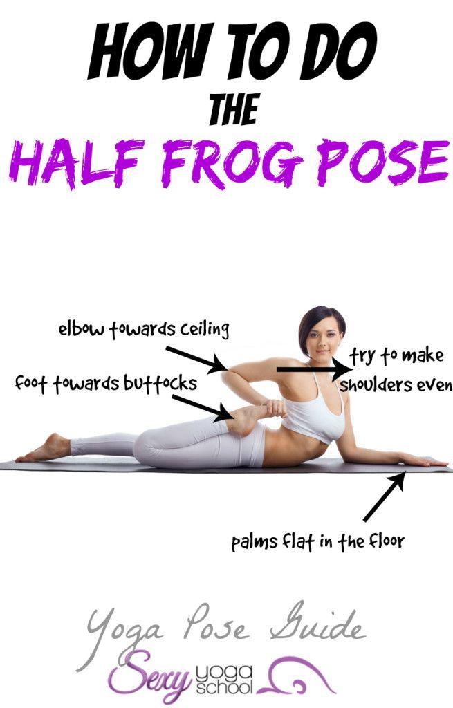 half frog pose guide