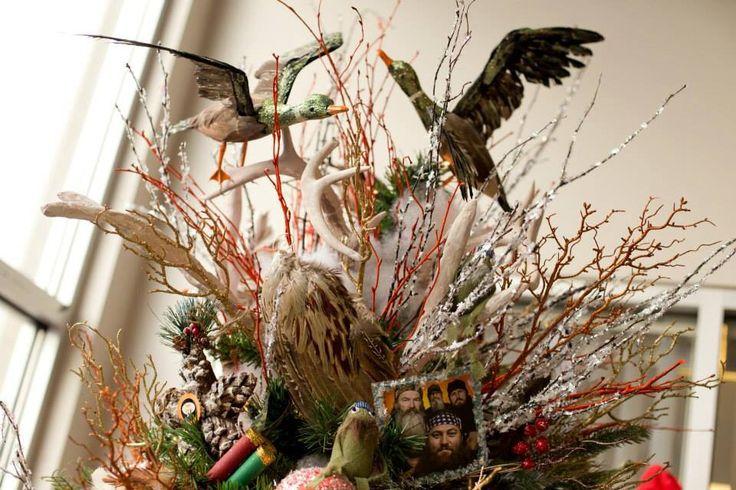 My Duck Dynasty Inspired Christmas Tree. The Ducks
