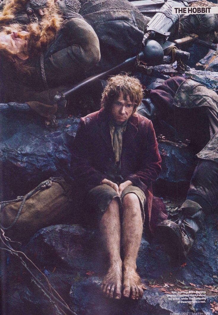 "This is after ""The Battle of Five Armies"" isn't it? I'm gonna cry. :'("