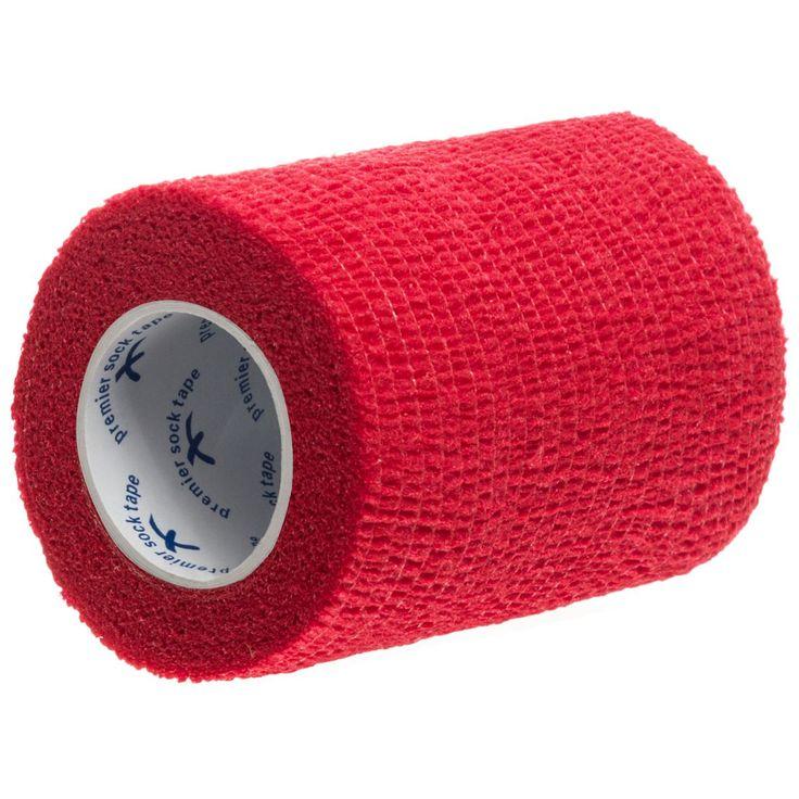 Kjøp Premier Sock Tape - Leggskinn Pro Wrap 7,5 cm Rød for bare 39,00 NOK! Spar 10% hos www.unisportstore.no! Gratis frakt på alle bestillinger over 499 kr!
