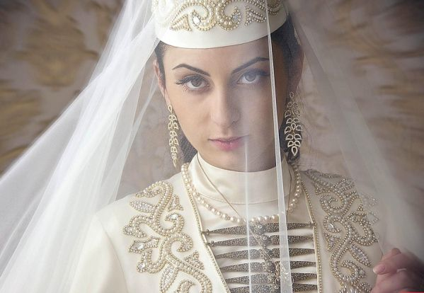 Ossetian gown traditional costume North Caucasus people