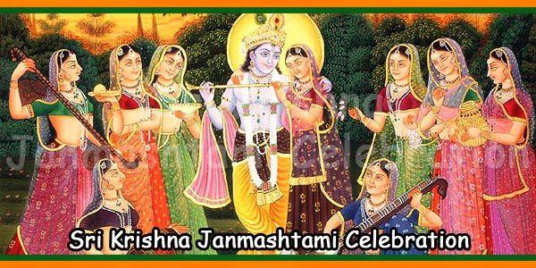 Sri Krishna Janmashtami Celebration in Vrindavan