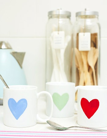 Simple but gorgeous: Take some old crockery...and turn it into something gorgeous :: allaboutyou.com