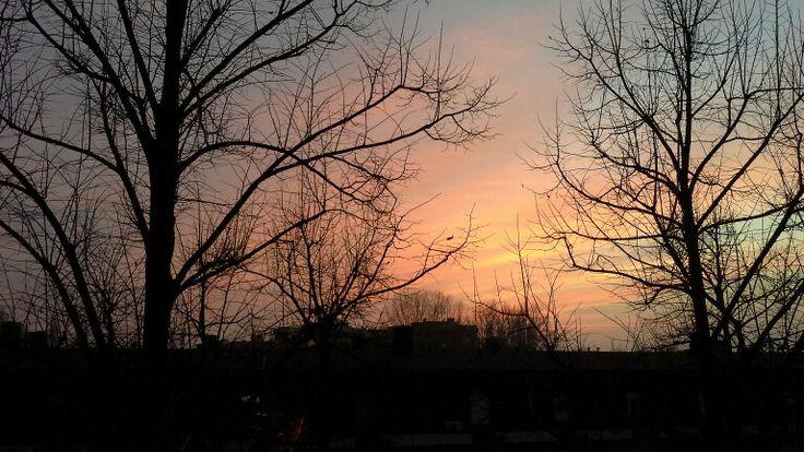Sunset, 27th December 2013