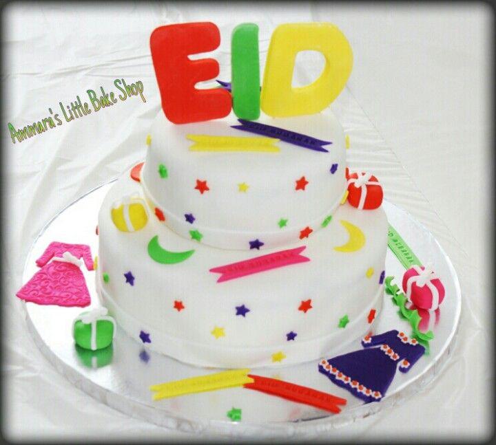 Eid Cake Decoration Ideas : Eid Cake Ammara s Little Bake Shop Pinterest Eid ...
