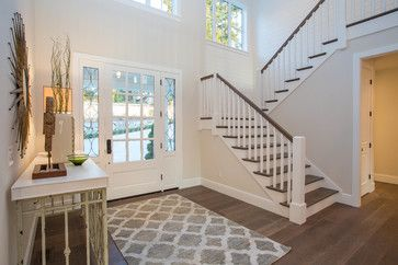 Clyde Hill Modern Farm House - farmhouse - Entry - Seattle - Calista Interiors