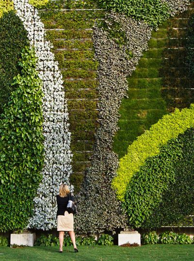 So cool!GSky Plant Systems provider of vertical green walls & green roofs.