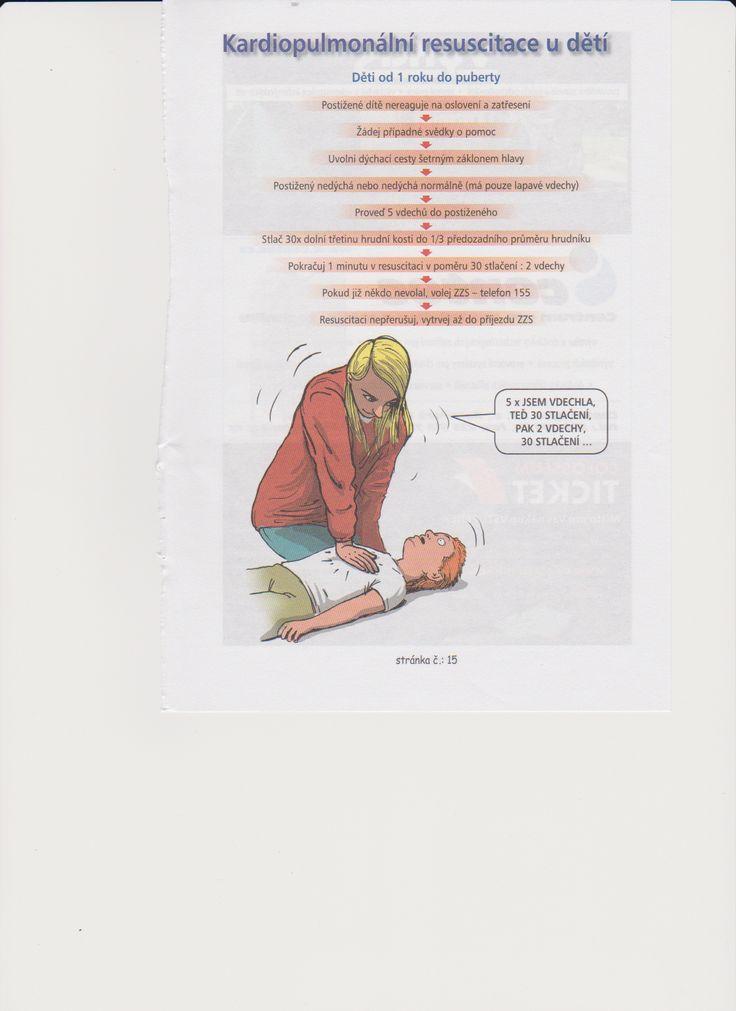 kardiopulmonální resuscitace u dětí