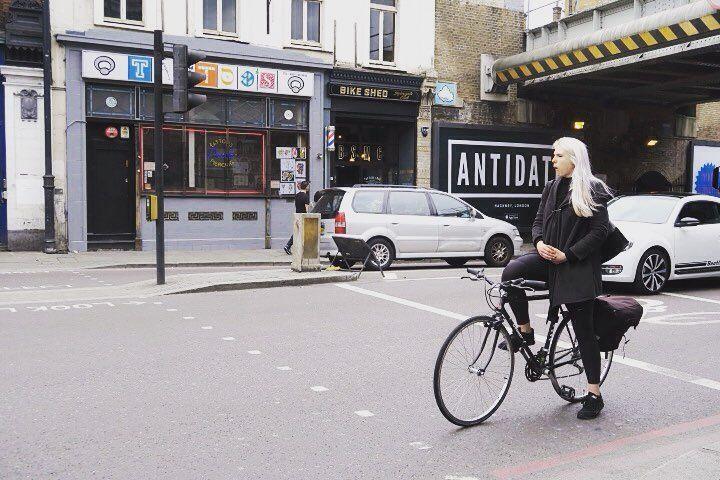 London cyclestyle  #london # #bikefashion