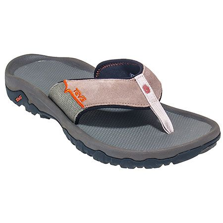 5fb03f0ed95ba Teva Men s 4136 WAL Walnut Tan Katavi Thong Flip Flop Sandals ...