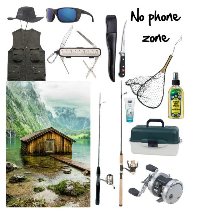 """""""Gone fishing"""" by pinnulinen on Polyvore featuring interior, interiors, interior design, home, home decor, interior decorating, Wüsthof, Costa, Columbia and Ocean Potion"""