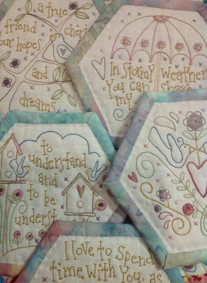 61 best Stitched With Love images on Pinterest : hand embroidery patterns for quilts - Adamdwight.com