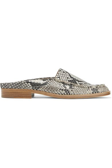 Gabriela Hearst - Kate Python Slippers - Snake print - IT38.5
