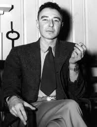 """J. Robert Oppenheimer created the atomic bomb in 1945. He said """"I am become death, the destroyer of worlds."""""""