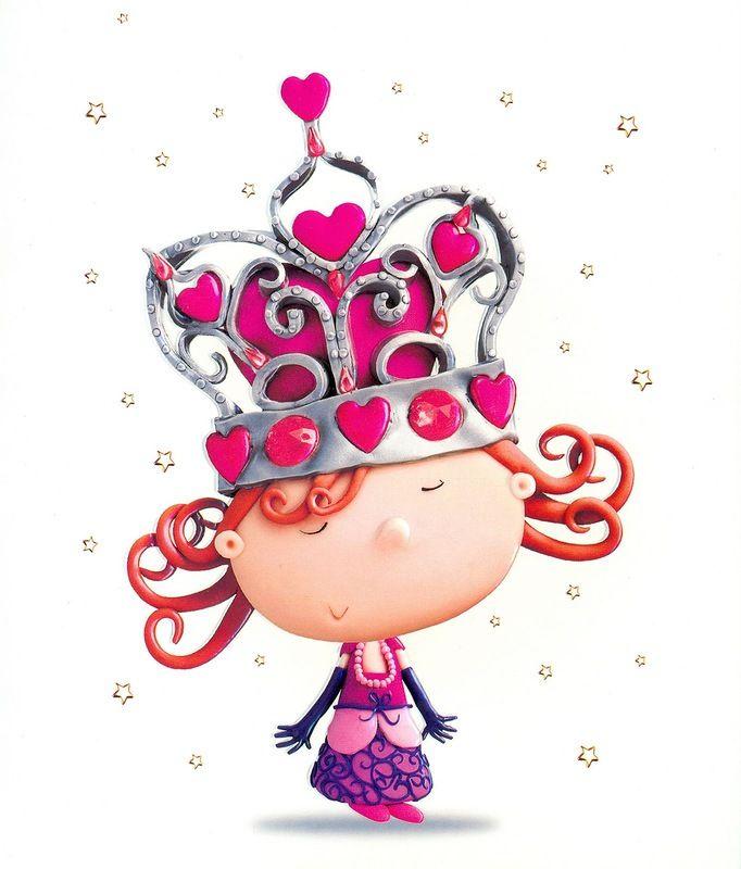 С днем рождения открытки принцессы