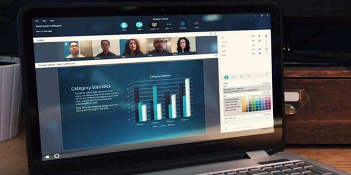 Se acaba de presentar Amazon Chime, un nuevo servicio de videoconferencias para iPhone, iPad, Mac, Windows y Android, y que está dirigido a empresas. https://iphonedigital.com/amazon-lanzamiento-chime-videoconferencias-100-personas-online/ #iphonedigital #iphoneapps #iphone #apple