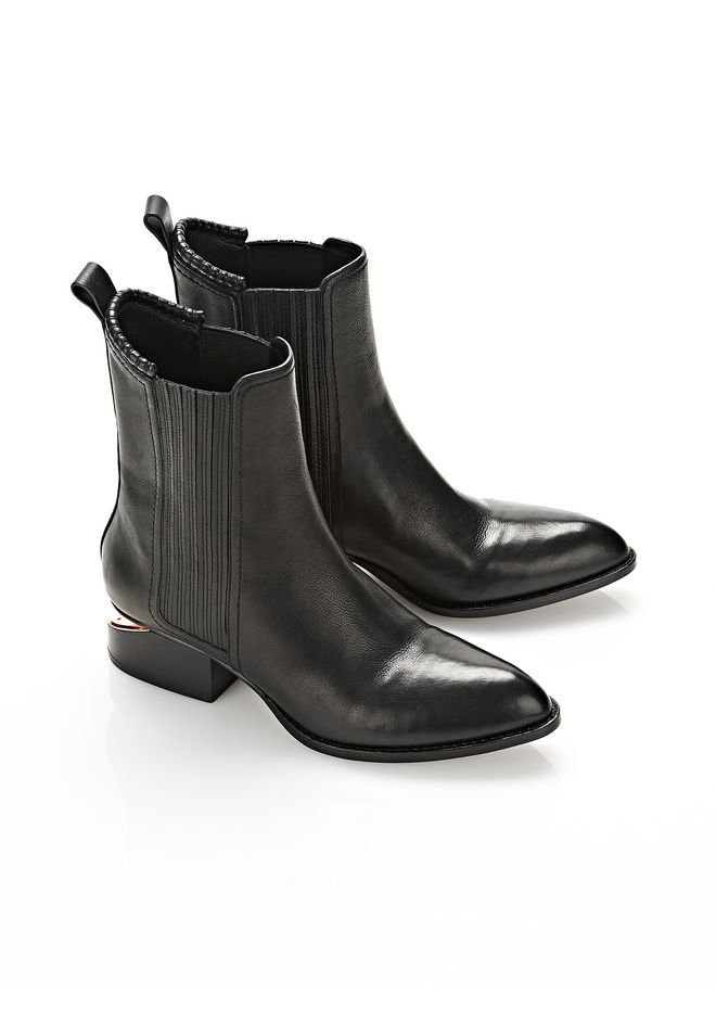 ANOUCK BOOT WITH ROSE GOLD - Women Boots - Alexander Wang Official Site