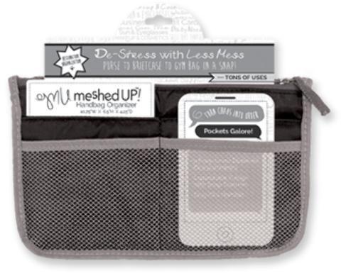 Wholesale Meshed Up! Handbag Organizer - Black (Case of 20)