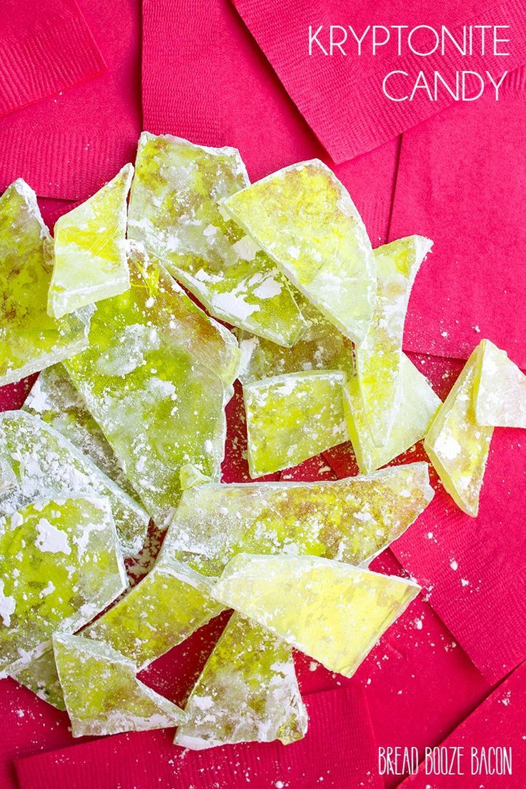 Get ready to take down Superman with our Kryptonite Rock Candy! No super-villain should leave home without it!