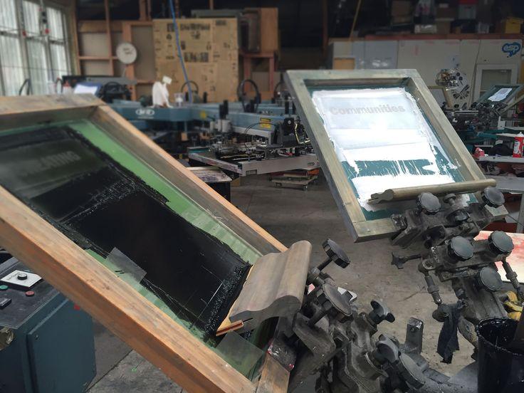 Manual Screen Printing