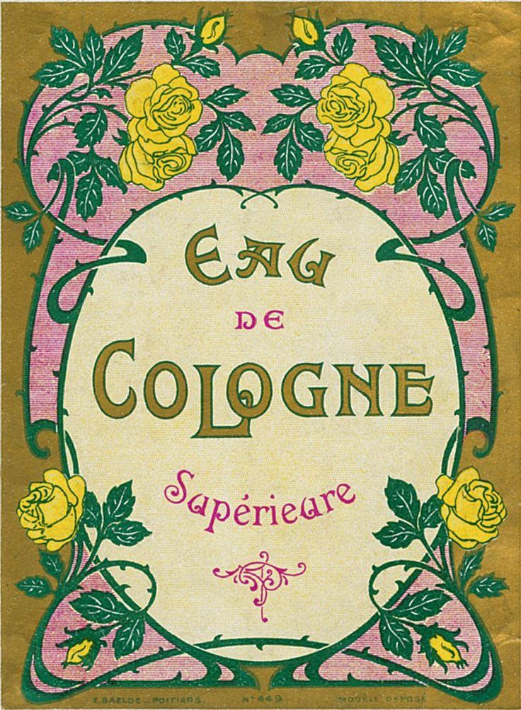 Sisters' Warehouse: Vintage Perfume Labels - Etichette Vintage di Profumi