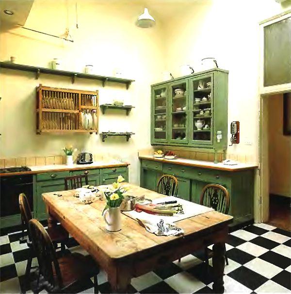 English Country Kitchen Kitchens Pinterest