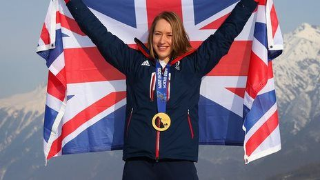 Yarnold to carry flag for Team GB