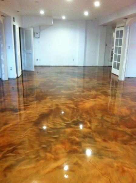 17 Best Images About Metallic Epoxy Flooring On Pinterest