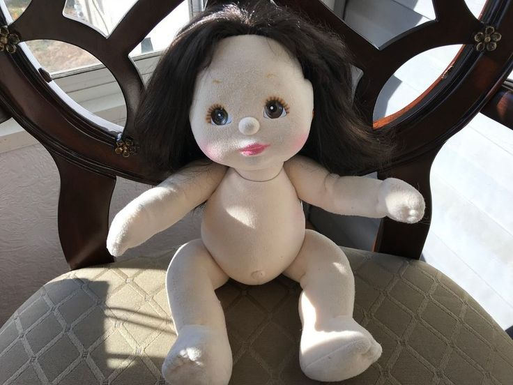 VINTAGE MATTEL MY CHILD DOLL  BLACK HAIR HAZEL EYES #Mattel