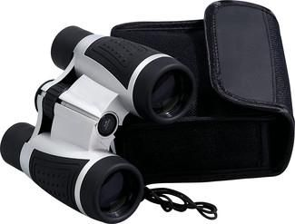 Orca binoculars..  Quality binoculars with rubber protective eye cups and coated lens system. Zoom factor of 5 x 30. Incl. instructions. In a protective pouch.