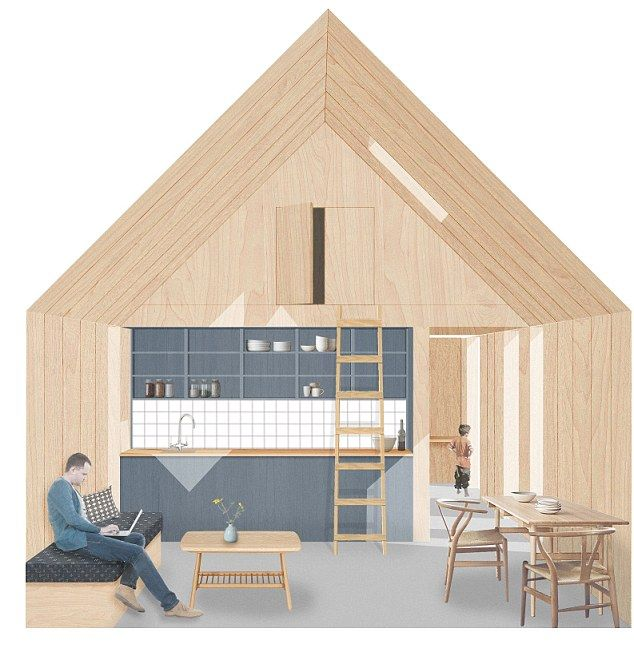 The winner of the same 2015 competition was this project that could 'easily be assembled by two people'