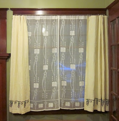 clio california craftsman living room. living room curtains purchased lace underneath i made the top from linen clio california craftsman c