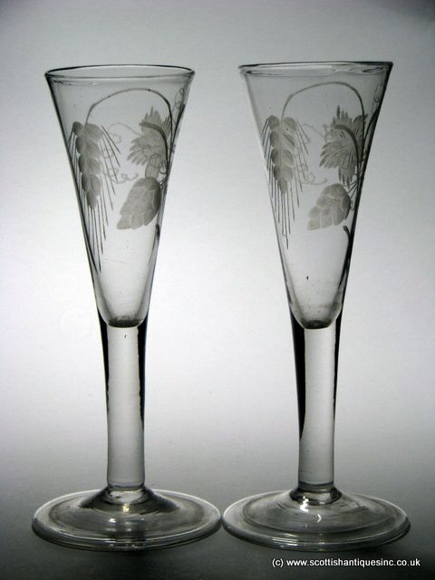 17 Best Images About Georgian Ale Glasses On Pinterest