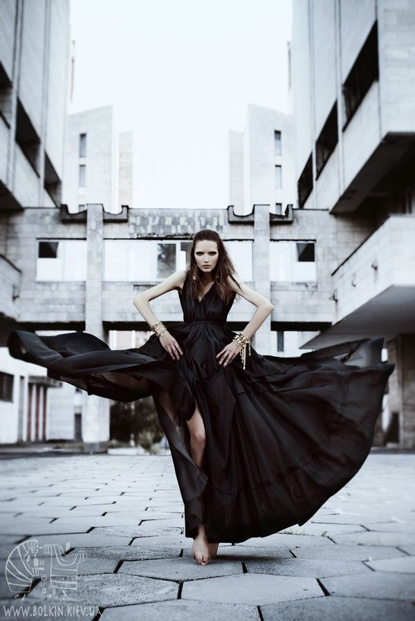 The Urban Crow by Victoria Bolkina - Fashion Photography - Bird Concept