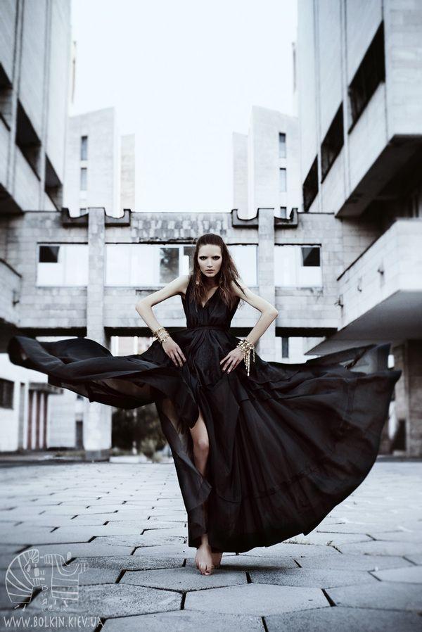 The Urban Crow by Victoria Bolkina - Fashion Photography - Bird Concept