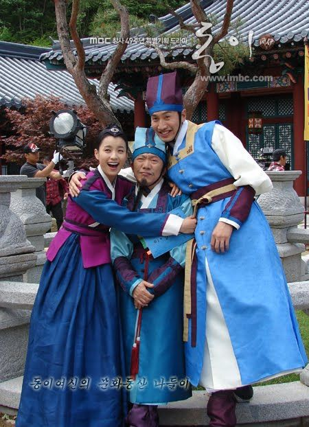 #DongYi (2010) Korean #CostumeDrama ♥ these guys are great and funny. Saw them…