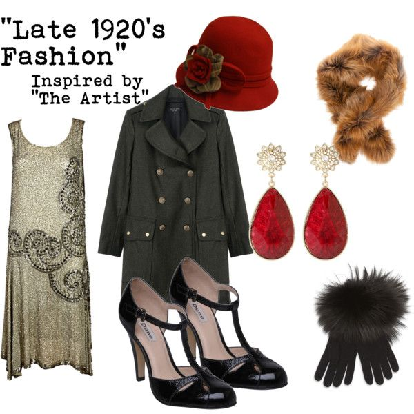 """""""Late 1920's Fashion"""" by fairelalamour on Polyvore I love 20's and 30's fashion, I was either born too late or left too soon..."""