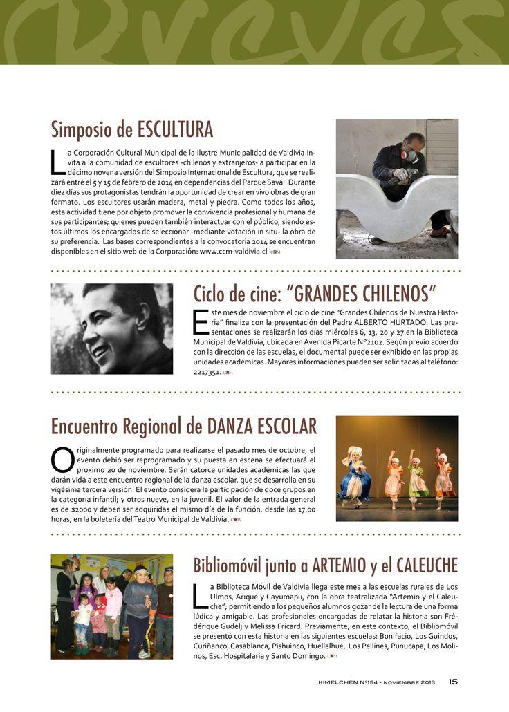 Revista Kimelchén Noviembre 2013