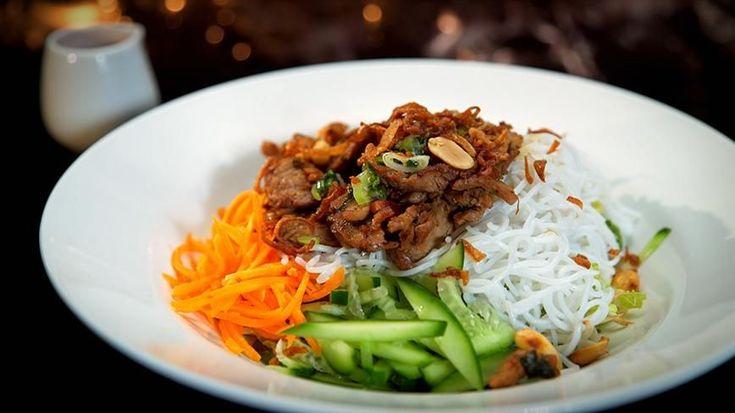 My Kitchen Rules Recipe - Kim & Suong's Bún Thịt Nướng (Pork Noodle Salad)