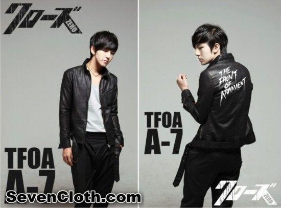 jual jaket crows zero online murah TFOA The Front Of Armament A 7 kulit