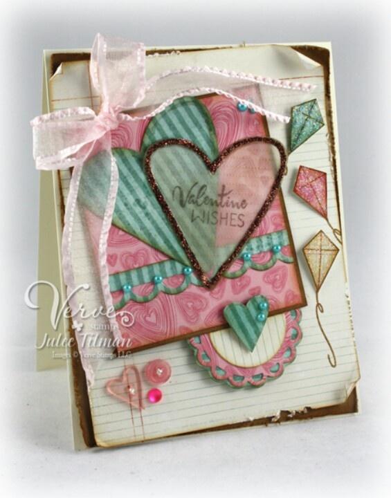 Pastel Valentine's Wishes Card
