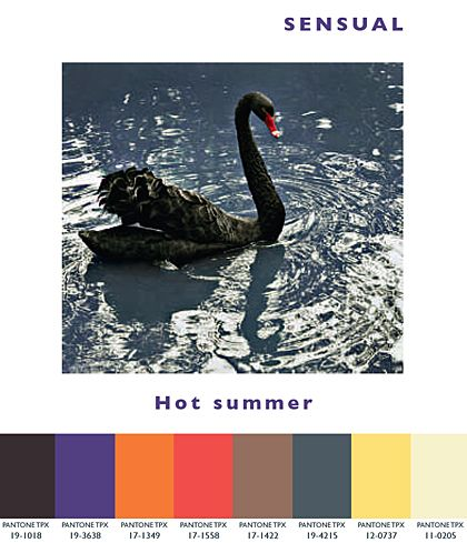Sensual - Hot Summer | Lenzing Spring/Summer 2014 Fashion & Color Trends