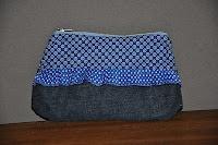 De elisanna clutch naar eigen inzicht aangepast......    Voor patroon en tutorial zie elisanna.blogspot.com