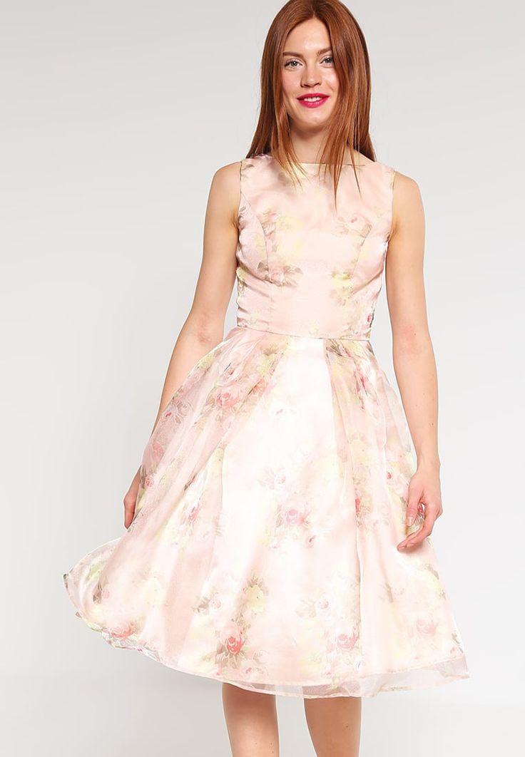 Chi Chi London AMYA - Cocktail dress / Party dress - pink Women Cocktail Dresses,chi chi london floral,Fantastic savings
