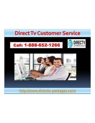 Want to know more about Dish Tv Packages 1-888-652-1266. DISH TV packages 1-888-652-1266. offer you the mostentertainment, value and innovation. Choose the America's 120 Plus for the best channels at the best price. For more sports action, go with America's Top 200 or Top 250. Movie buffs will fall in love with America's Everything Package.For more information visit on http://www.directtv-packages.com/