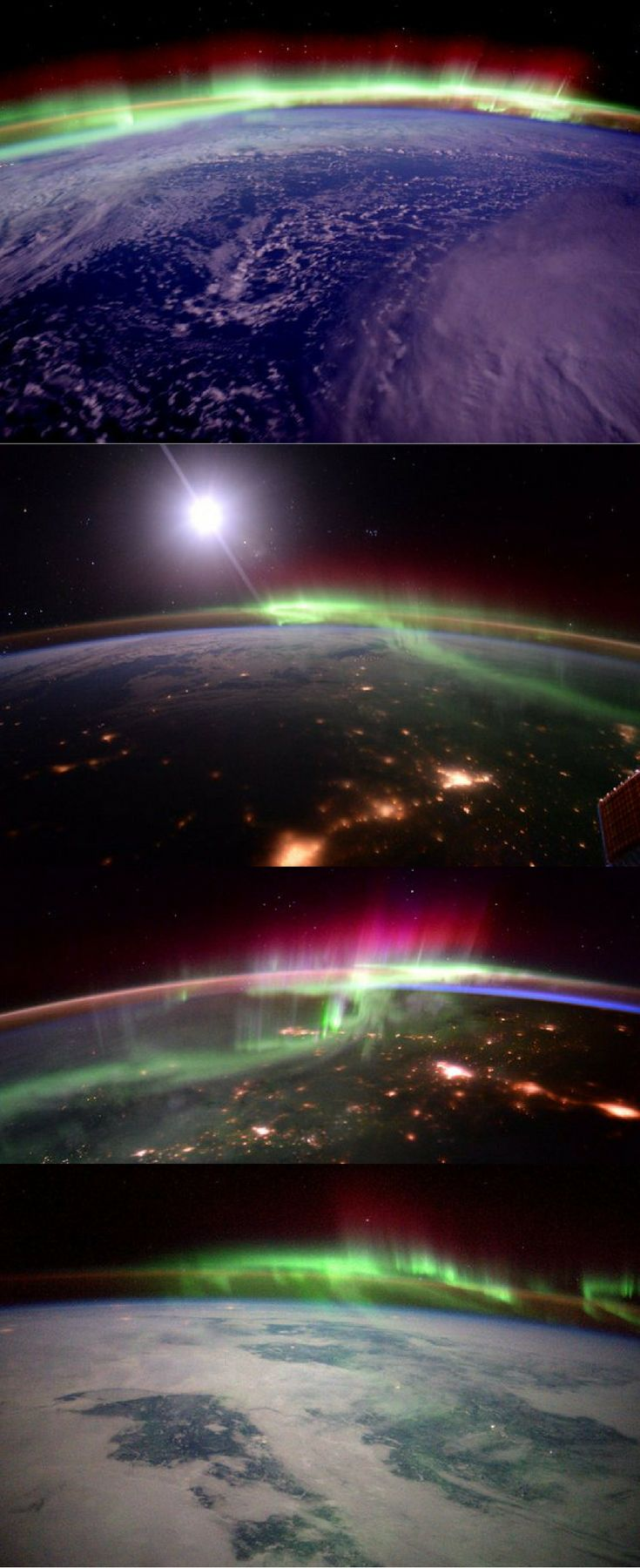 This Is What The Northern Lights Look Like From Space