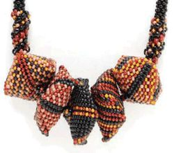 * Free Beaded Bead Project by Carol Huber Cypher - Daily Blogs - Beading Daily