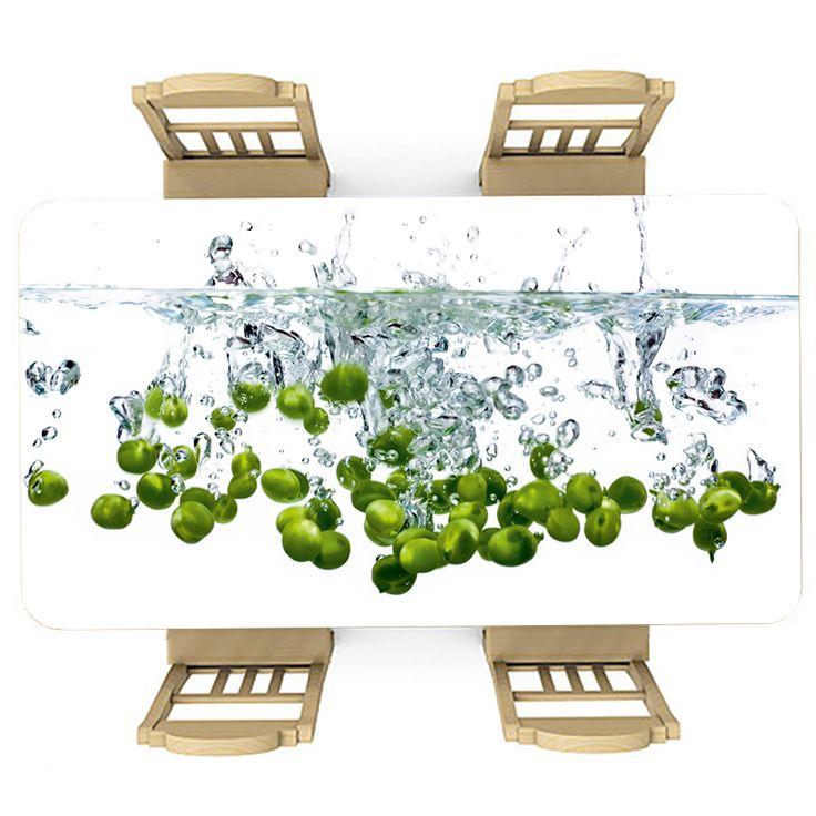Tafelsticker Olijven in water | Maak je tafel persoonlijk met een fraaie sticker. De stickers zijn zowel mat als glanzend verkrijgbaar. Geschikt voor binnen EN buiten! #tafel #sticker #tafelsticker #uniek #persoonlijk #interieur #huisdecoratie #diy #persoonlijk #water #olijven #olijf #voedsel #eten #gezond #keuken #groen